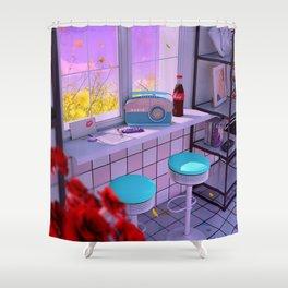 Radio Love Shower Curtain