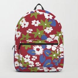 Modern bold liberty print Backpack