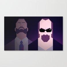 Kane & Lynch Canvas Print