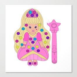 Lil Miss Jewels Canvas Print