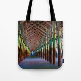 Under the Pier 1 Tote Bag
