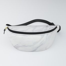 Pure-White-Marble Fanny Pack