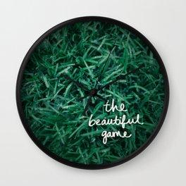 The Beautiful Game Wall Clock