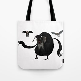 The Mountain Goat Witch Tote Bag