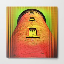 Lighthouse romance 16 Metal Print
