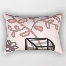 Pink gardening Rectangular Pillow