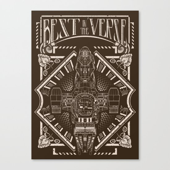 Best in the 'Verse Canvas Print