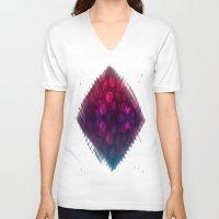 splash V-neck T-shirts featuring Splash by Aloke Design