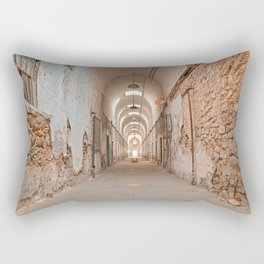 Prison Corridor Rectangular Pillow