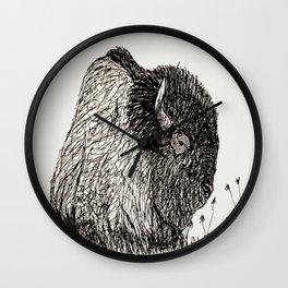 Buffalo Season 3 Wall Clock