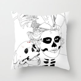 Voodoo Chille  Throw Pillow