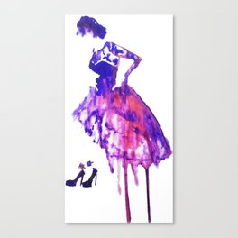 Miss Canvas Print