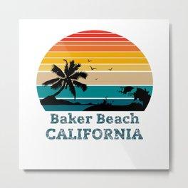 Baker Beach CALIFORNIA Metal Print