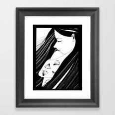 Sombre Framed Art Print