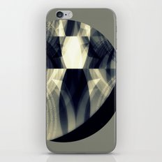 The moon is almost full tonight iPhone & iPod Skin