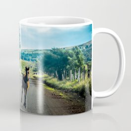 Free horses in Rapa Nui Coffee Mug