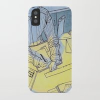 the office iPhone & iPod Cases featuring office hand by sydneymadisonqueen