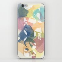 good vibes iPhone & iPod Skins featuring GOOD VIBES by Lasse Egholm