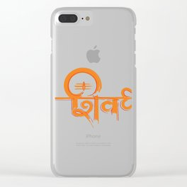 The Sublime Lord Shiva Clear iPhone Case