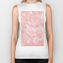 For Funsies in pink Biker Tank