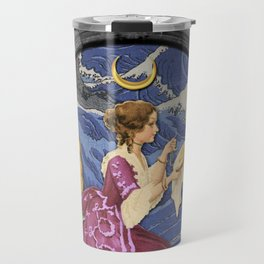THE HIGH PRIESTESS TAROT CARD Travel Mug