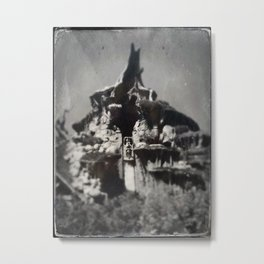 Splash Mountain by Topher Adam 2017 Metal Print