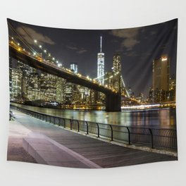 Brooklyn Bridge -  Timelapse Wall Tapestry