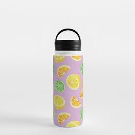 Citrus Pattern Water Bottle