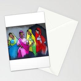 Punjabi Girls Gidda Dance Stationery Cards