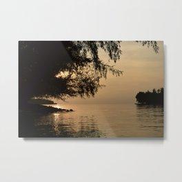Tranquil Lagoon Metal Print