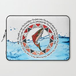 Salmon Spirit Animal Laptop Sleeve