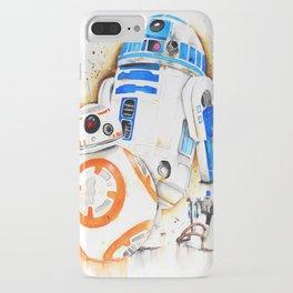 R2d2&BB8 iPhone Case