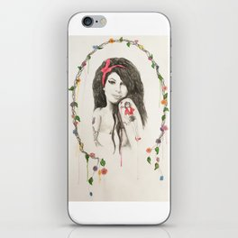 To Amy iPhone Skin