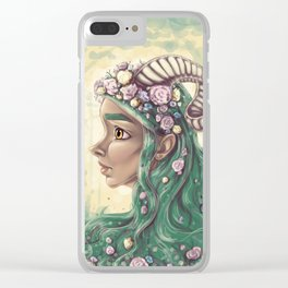Forest Centaur Clear iPhone Case