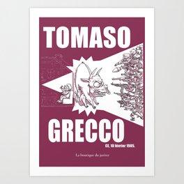 Tomaso Art Print