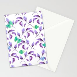 Passionately Purple Spring Time Daze - Bagaceous Stationery Cards