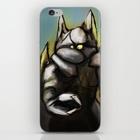 rocky iPhone & iPod Skins featuring Rocky by Wesley S Abney