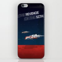 sith iPhone & iPod Skins featuring Revenge of the Sith by Clément Tholance