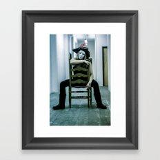 pirate's booty Framed Art Print