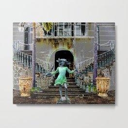 Ghost in a Madeira Mansion. Metal Print