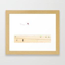 Cerf-volant Framed Art Print