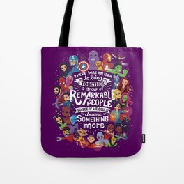 Remarkable People Tote Bag