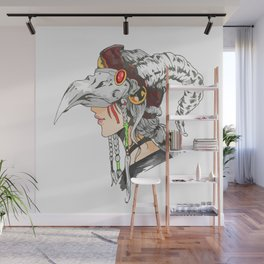 anime lady Wall Mural
