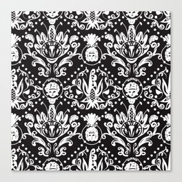 Baroque Seamless Pattern Canvas Print