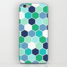 Galactic Hexagons 1 iPhone Skin