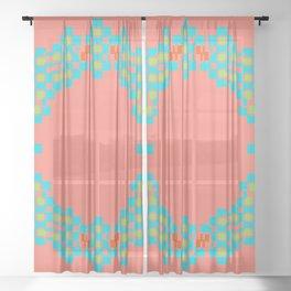 """""""Aurora"""" series #5 Sheer Curtain"""