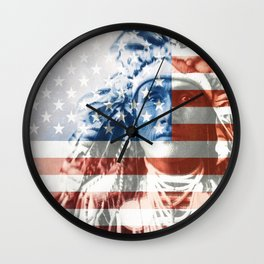 Native Americans in the United States Wall Clock