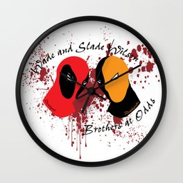 Wilson Brothers 3D Wall Clock