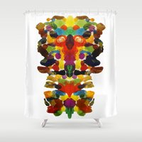 totem Shower Curtains featuring totem! by gasponce