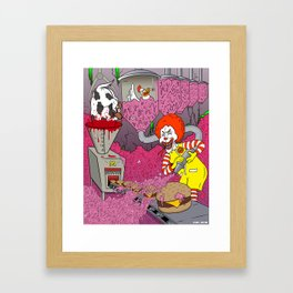I'm Lovin It! Framed Art Print